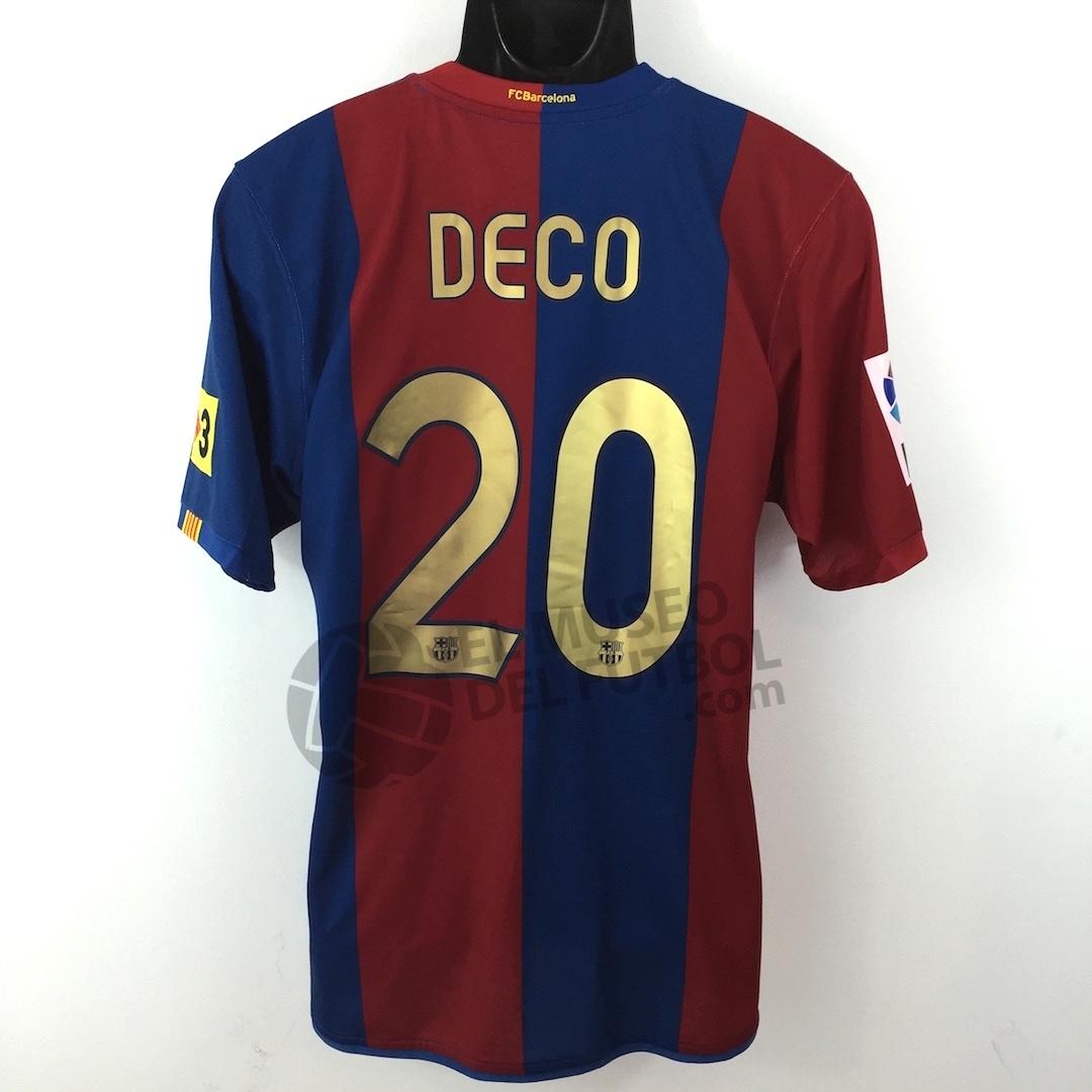 Fc Barcelona 06 07 Home Shirt DECO SS LFP  El Museo del