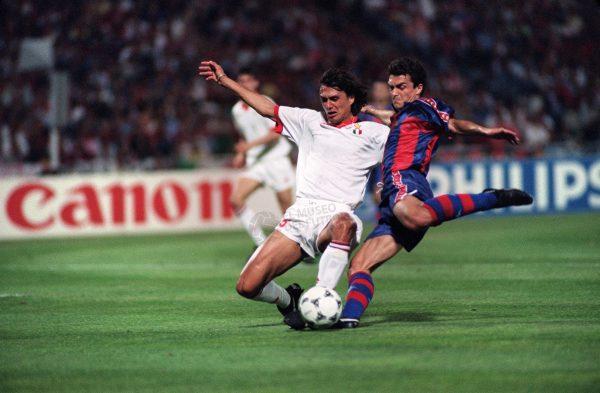 SOCCER-AC MILAN-FC BARCELONE