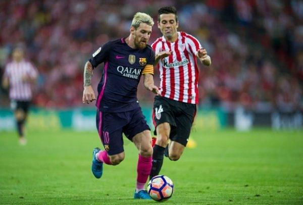 2016-17 Fc Barcelona Away Shirt #10 MESSI La Liga